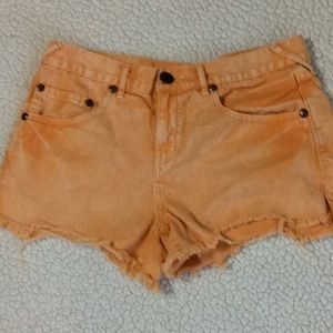 Free People Shorts Size 28